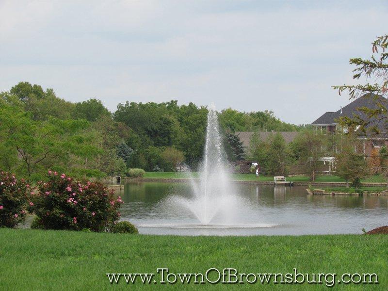 WindRidge Landing, Brownsburg, IN: Fountain