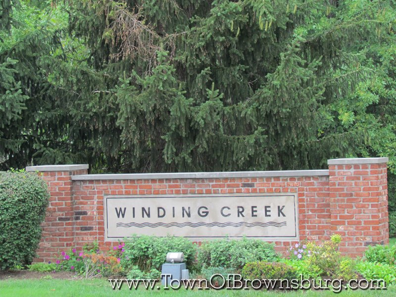 Winding Creek, Brownsburg, IN: Entrance