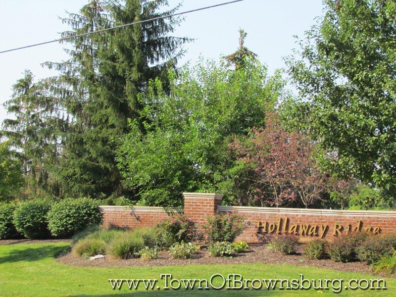 Holloway Ridge, Brownsburg, IN: Entrance