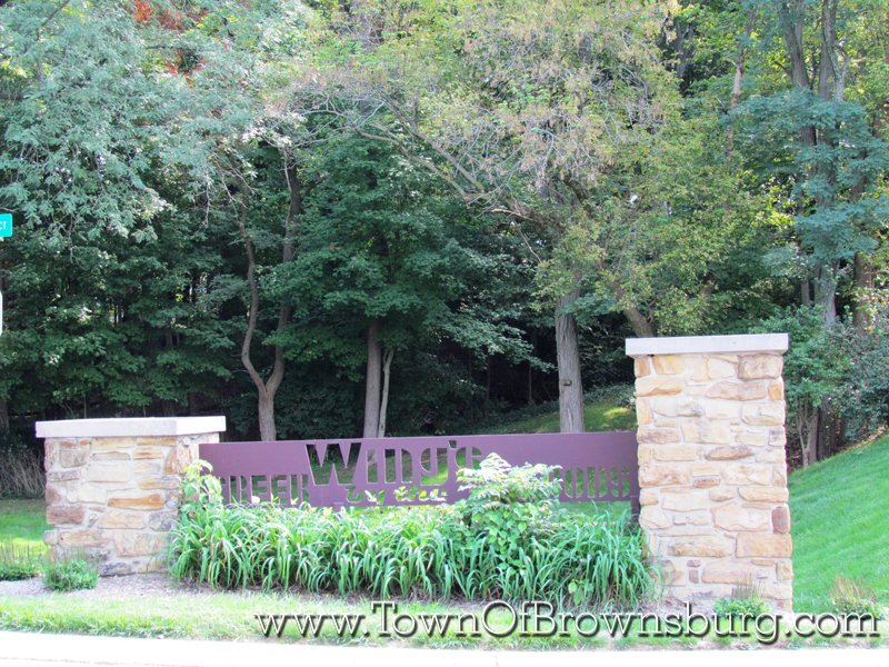 Wings Creek by the Woods, Brownsburg, IN: Entrance