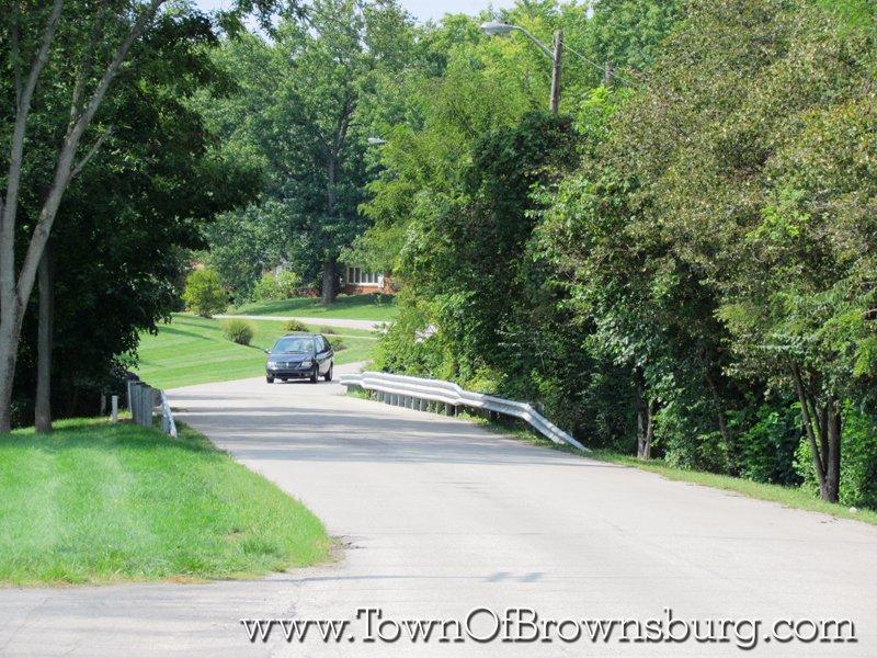North Ridge, Brownsburg, IN: Entrance Roadway