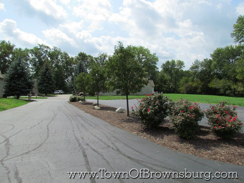 North Ridge, Brownsburg, IN: Roadway