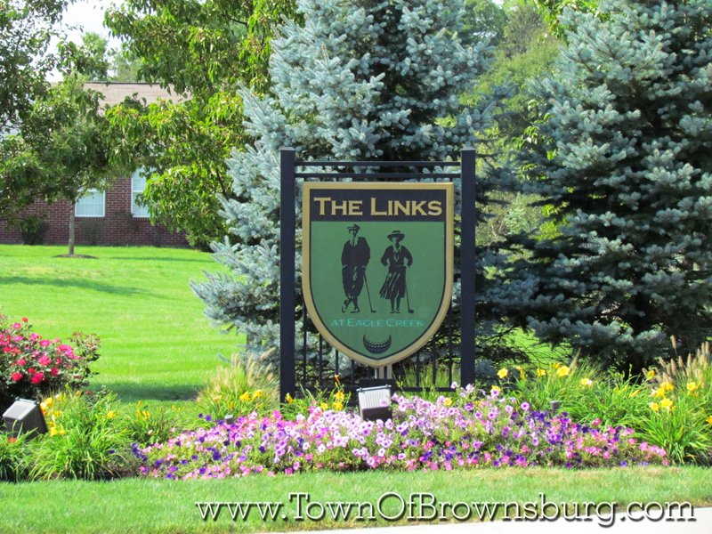 The Links Eagle Creek, Brownsburg, IN: Entrance