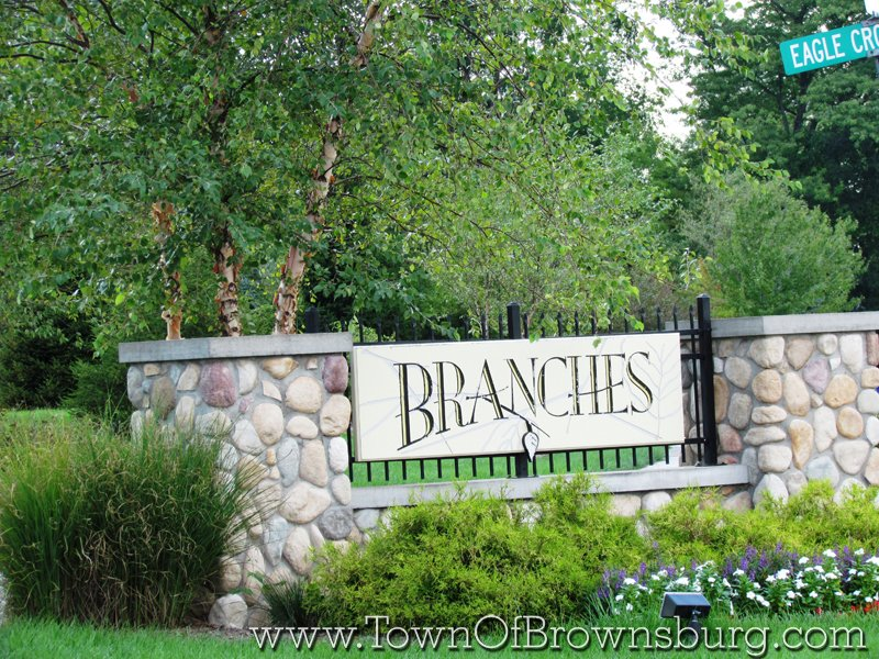 Branches, Brownsburg, IN: Entrance