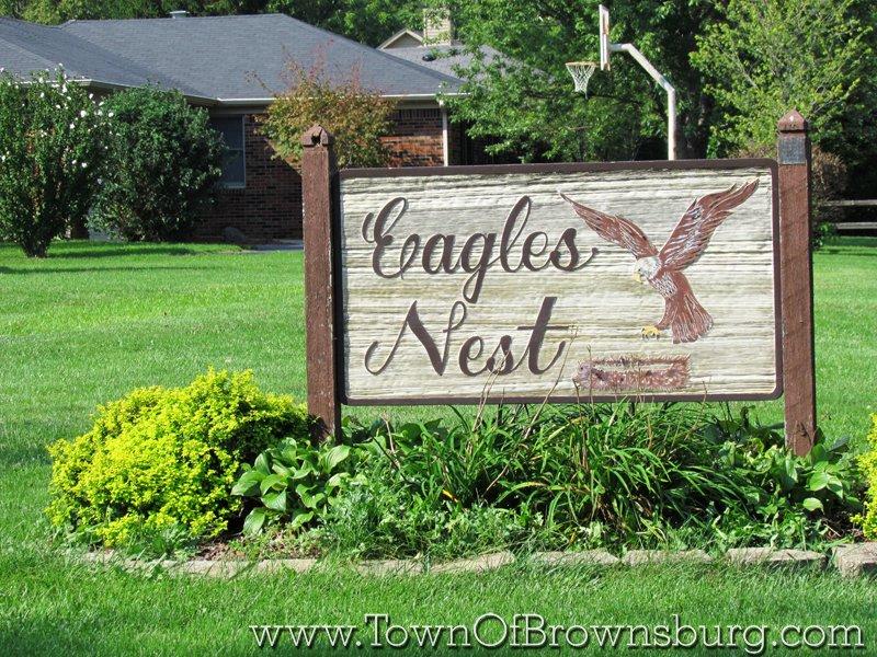 Eagles Nest, Brownsburg, IN: Entrance