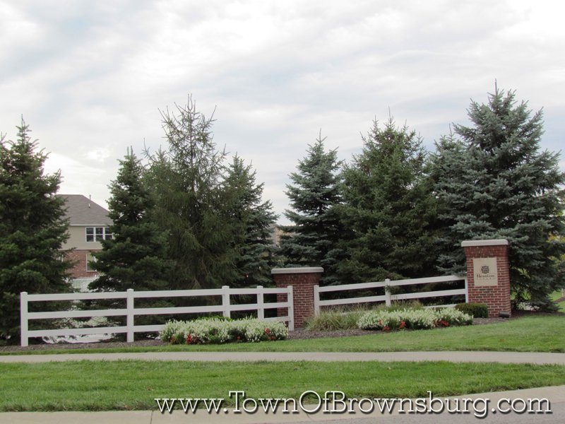 Hession Farms, Brownsburg, IN: Entrance