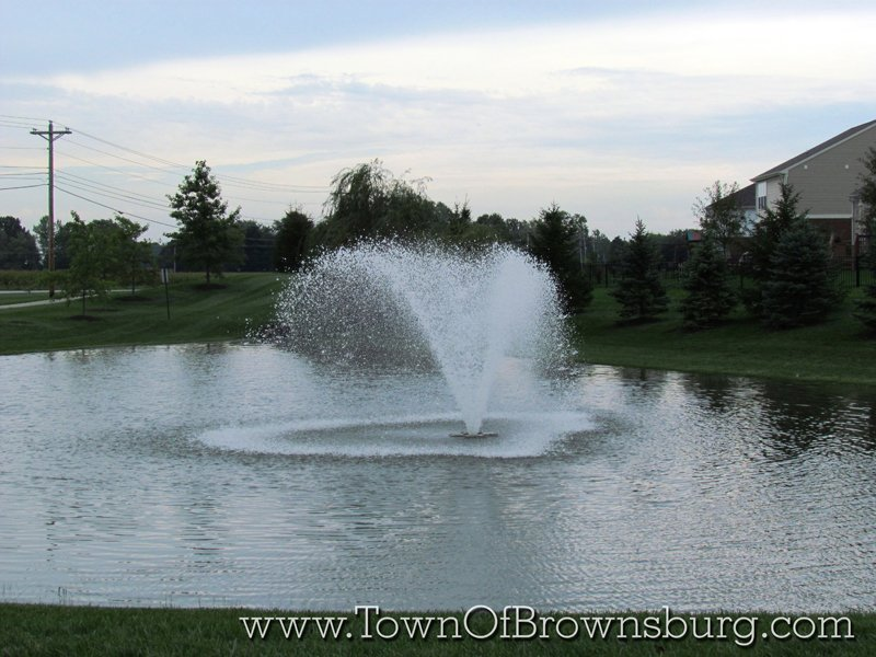 Hession Farms, Brownsburg, IN: Pond