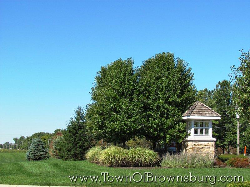 Wynne Farms, Brownsburg, IN: Residential Roadway