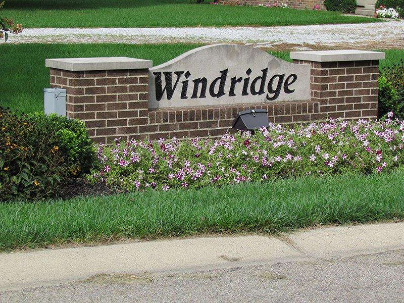 WindRidge, Brownsburg, IN: Entrance