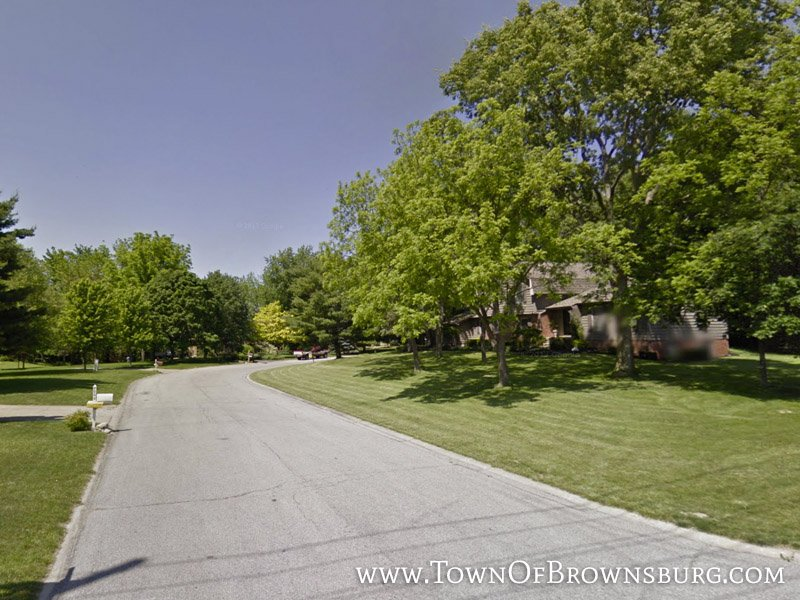 Entrance – Bluffwood Neighborhood – Brownsburg, IN