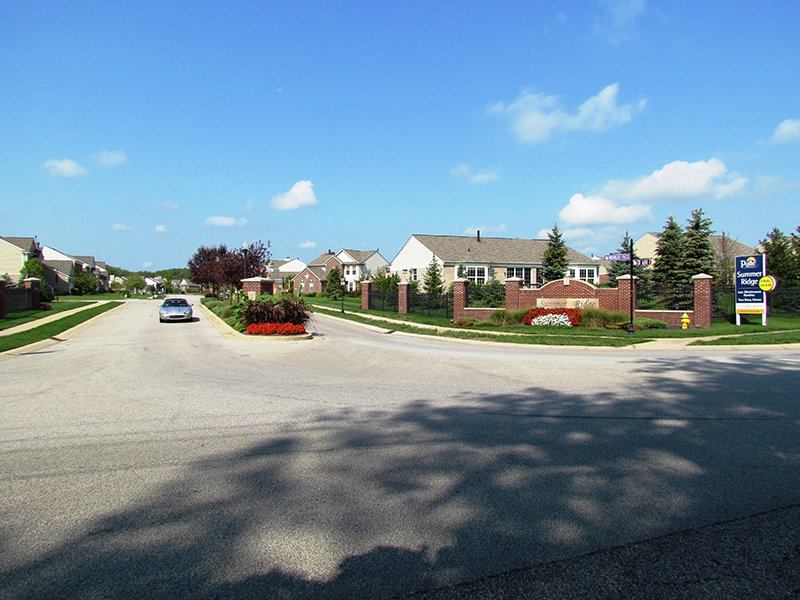 East Entrance: Summer Ridge, Brownsburg, IN