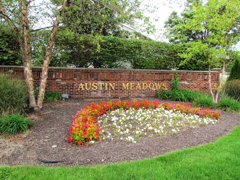 Entrance: Austin Meadows, Brownsburg, Indiana