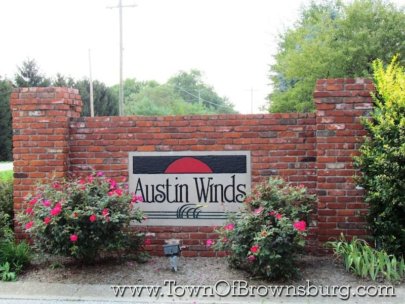 Austin Winds, Brownsburg, IN: Entrance