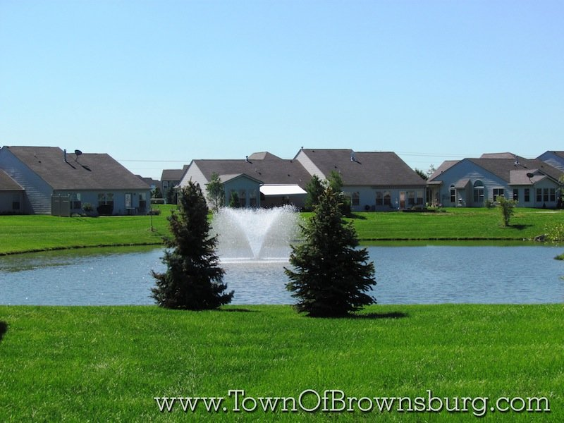 Bersot, Brownsburg, IN: Lake
