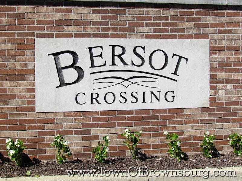 Bersot, Brownsburg, IN: Entrance