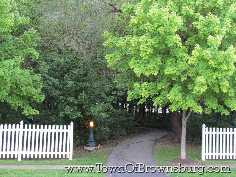 Green Street Villiage, Brownsburg, IN: Walkway