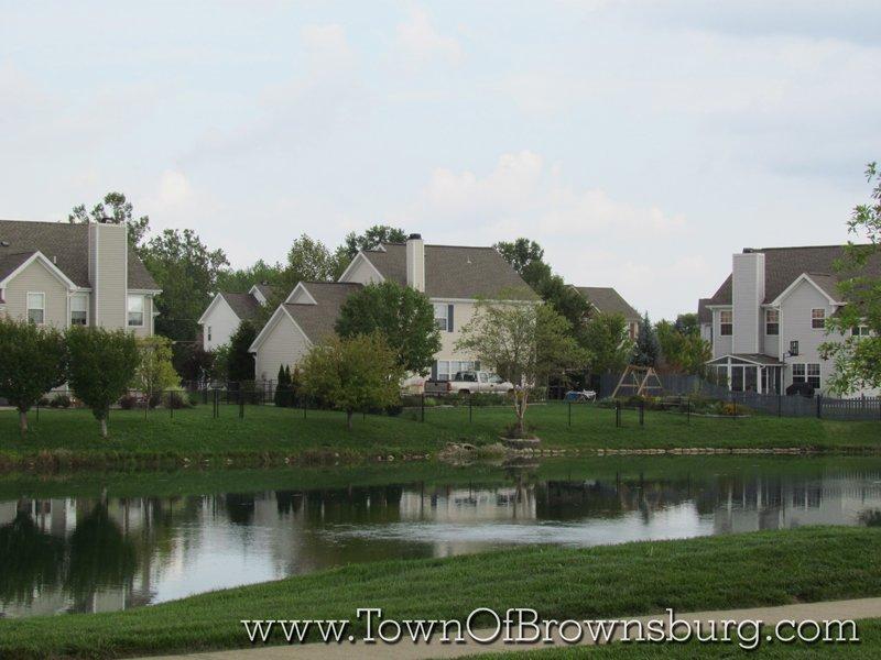 Green Street Villiage, Brownsburg, IN: Pond