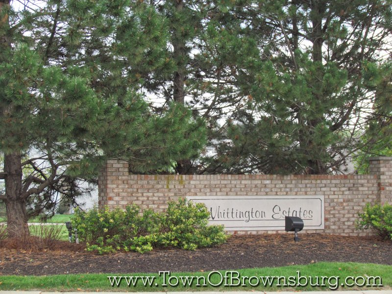 Whittington, Brownsburg, IN: Entrance