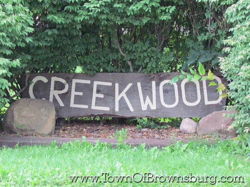 Creekwood, Brownsburg, IN: Entrance