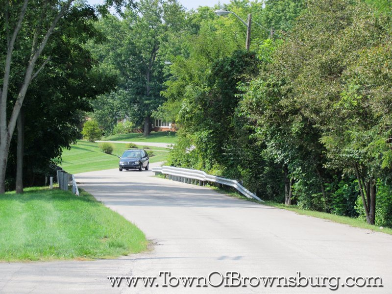 North Ridge, Brownsburg, IN: Entrance Roadway