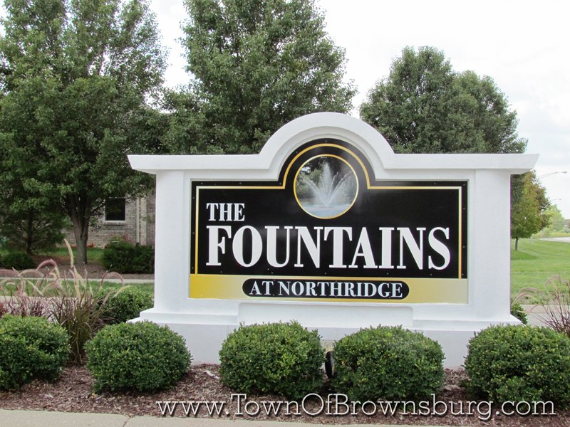 The Fountains, Brownsburg, IN: Entrance