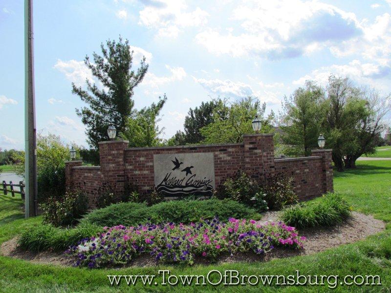 Mallard Crossing, Brownsburg, IN: Entrance