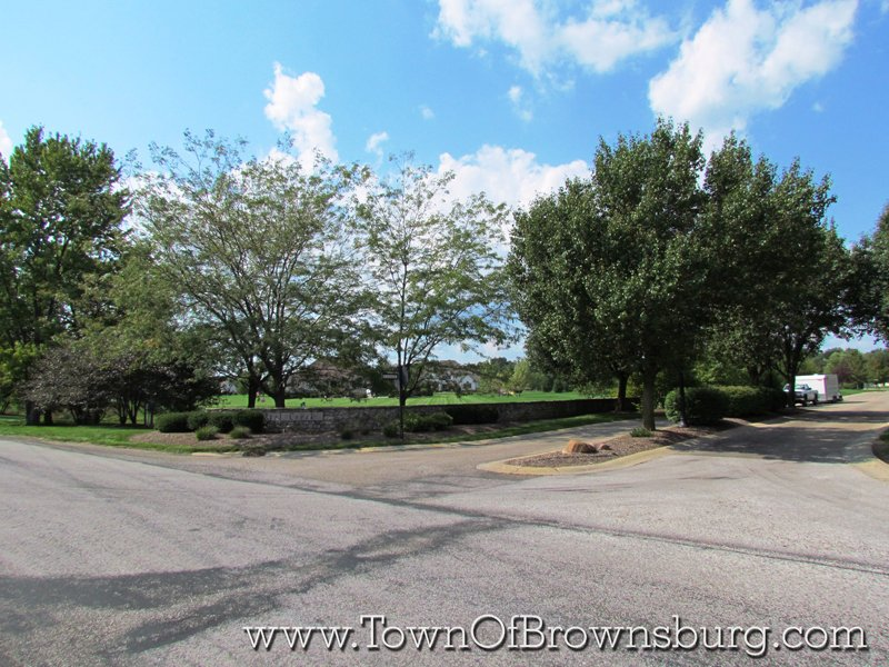 Reel Creek, Brownsburg, IN: Entrance