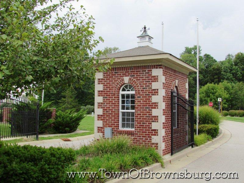 Eagle Lakes, Brownsburg, IN: Entrance