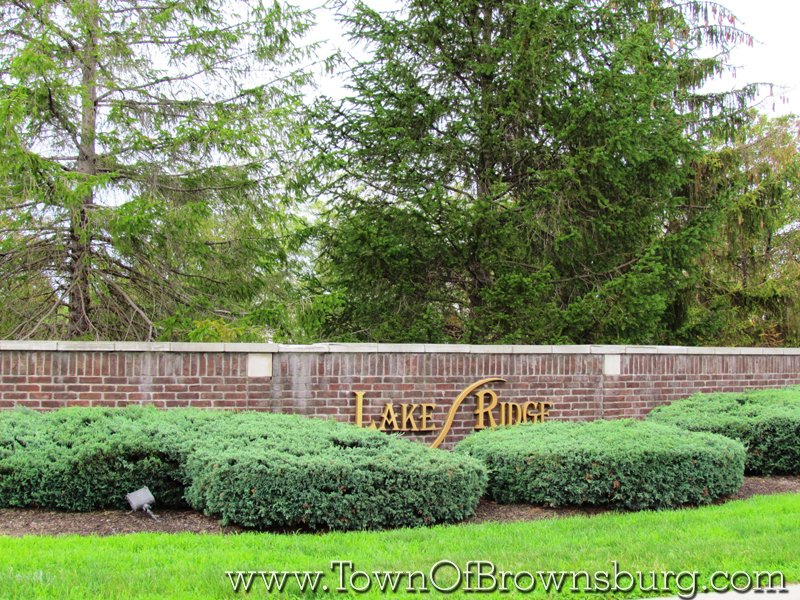 Lake Ridge, Brownsburg, IN: Entrance