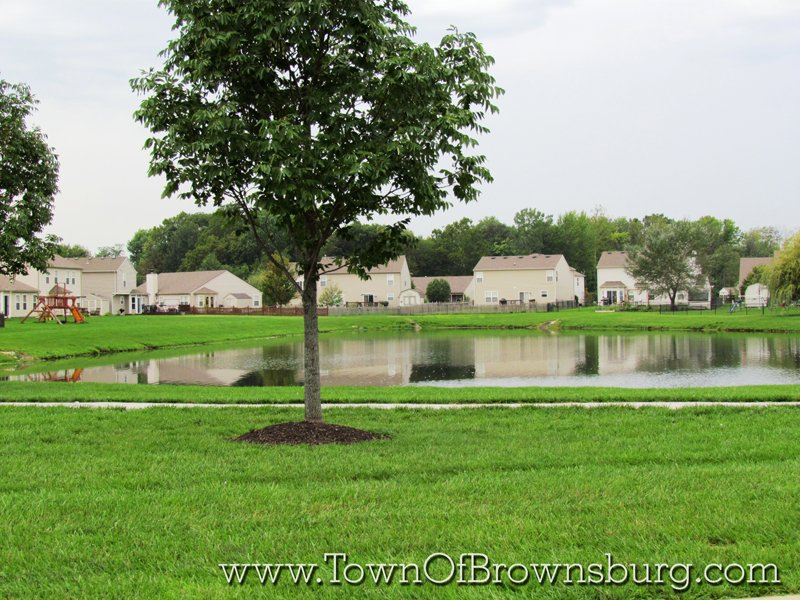 Lake Ridge, Brownsburg, IN: Pond