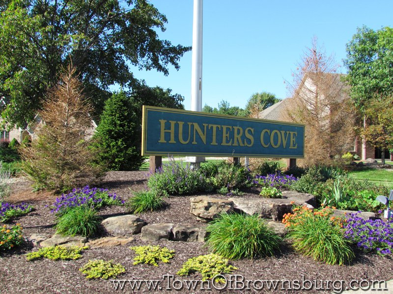 Hunters Cove, Brownsburg, IN: Entrance
