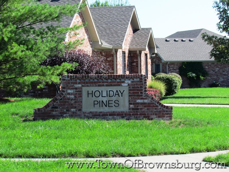 Holiday Pines, Brownsburg, IN: Entrance