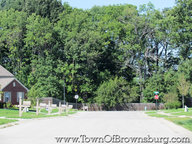 Fox Chase, Brownsburg, IN: Subdivision Roadway