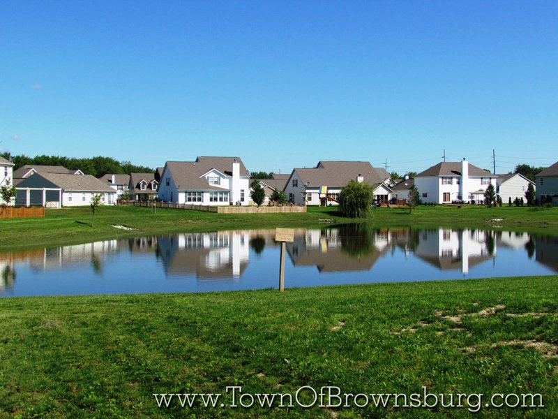 Fox Chase, Brownsburg, IN: Pond