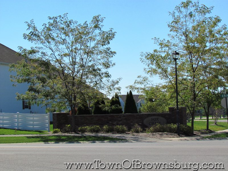 Fox Chase, Brownsburg, IN: Entrance