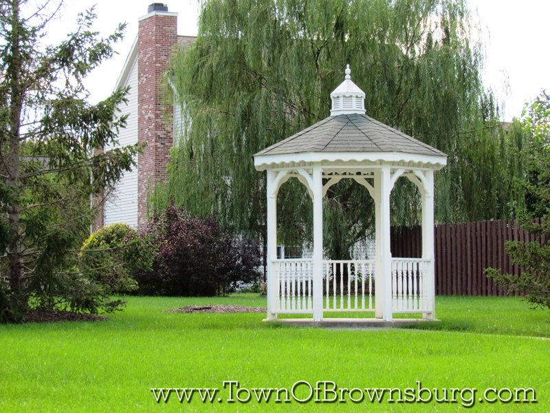 Highland Springs, Brownsburg, IN: Gazebo