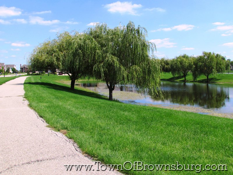 Highland Springs, Brownsburg, IN: Pond