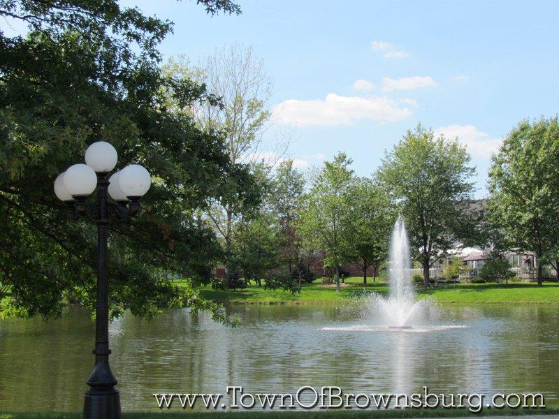 Sugar Bush Farms, Brownsburg, IN: Pond