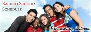 Brownsburg Schools Back to School Calendar