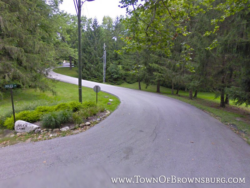 Entrance – Traders Point Subdivision – Brownsburg, IN