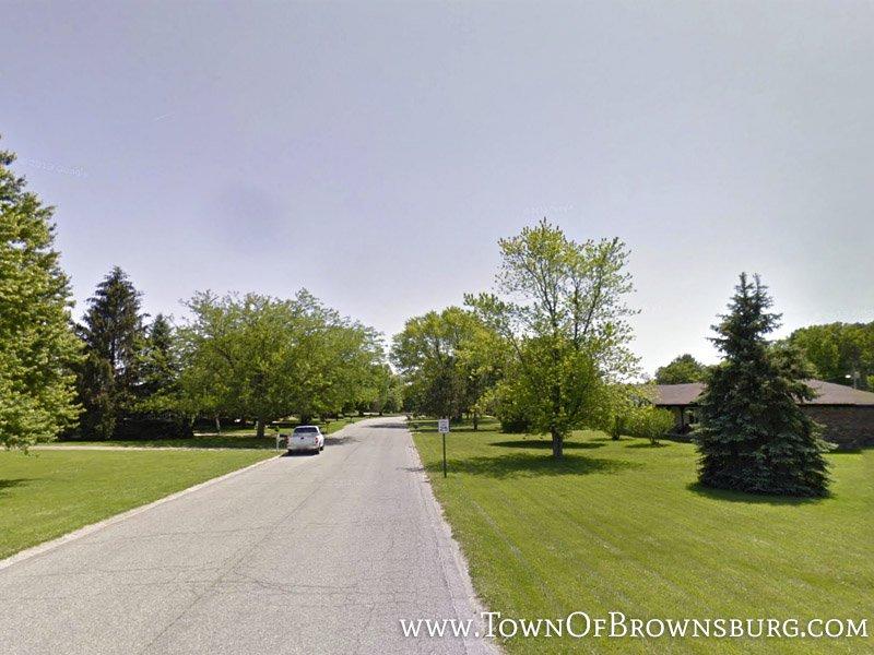 Entrance – Preston Estates, Eaker Court, Brownsburg, IN